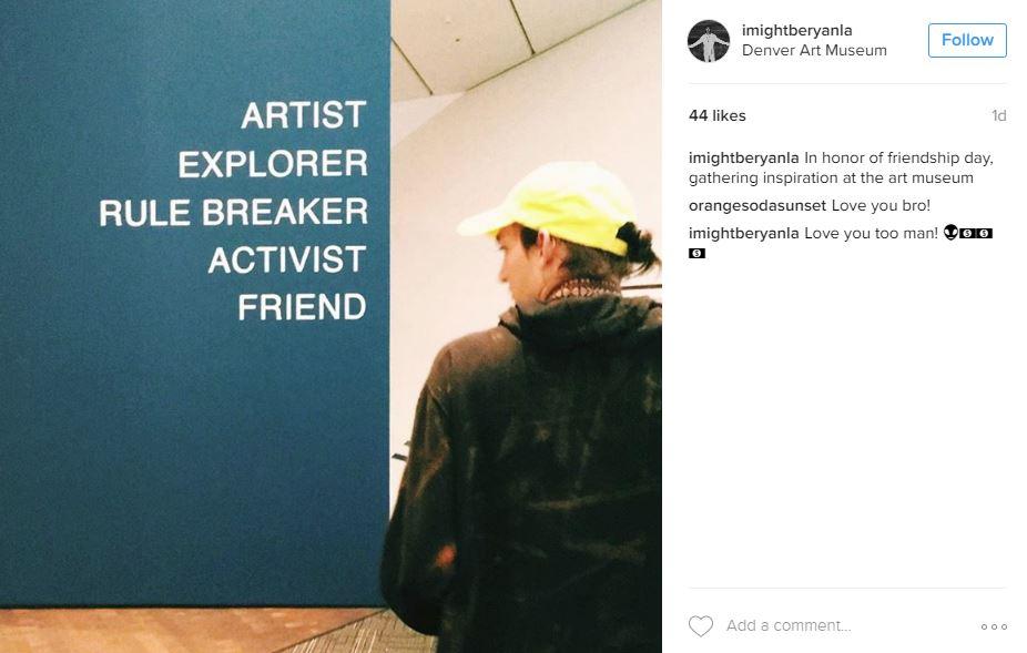 Lounge - title wall friendship day.JPG