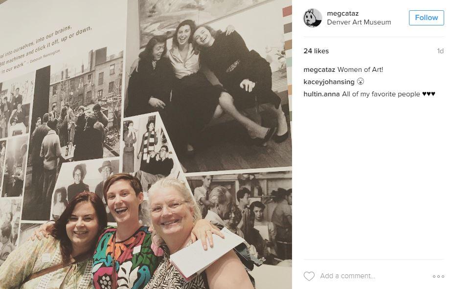 Lounge - Selfie Women of Art.JPG