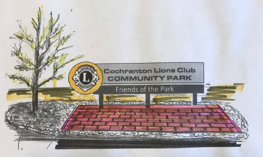 Memorial Rain Garden at Lions Park - Phase III of the Playground Project will include the proposed Memorial Rain Garden.  Engraved pavers honoring the loved and the beloved members of the community will be set about with trees and benches in a designated area of the park.
