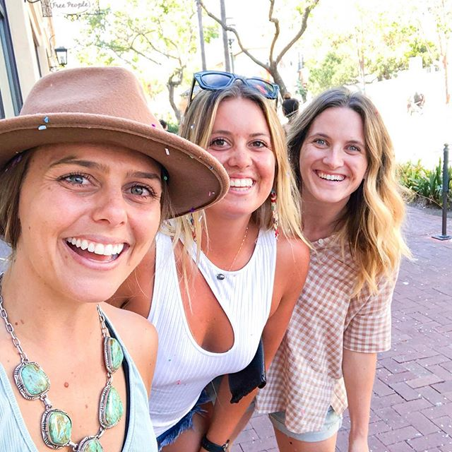 """Missing these girls. It's crazy how the """"busyness"""" of life can prevent you from spending time with those you love. But the beauty of these two, is we pick up right where we left off.  Anyone else have friends like that?  Can't wait to see these two next week!  #totalbliss #clubwildheart #santabarbara #foreverfiesta"""