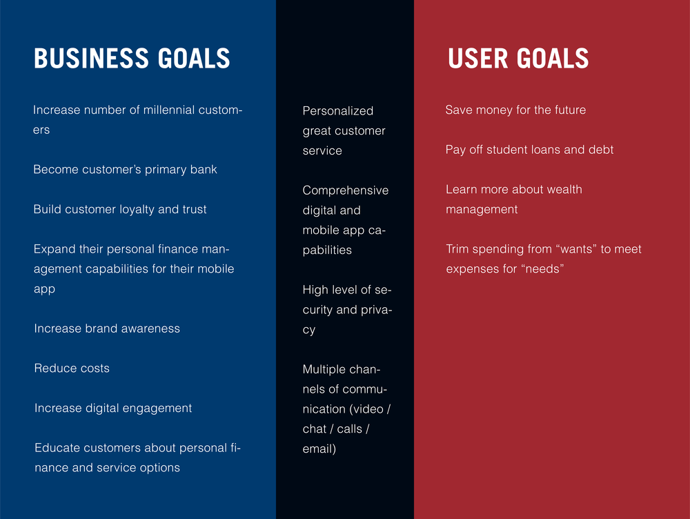 Business And User Goals