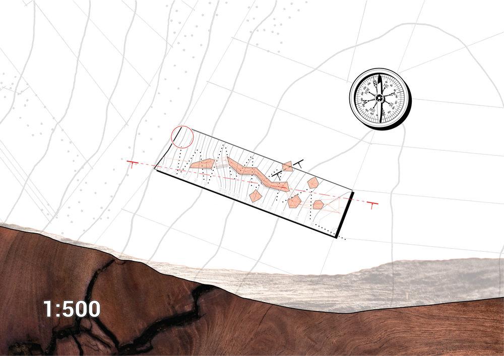 Onetangi, Site Plan