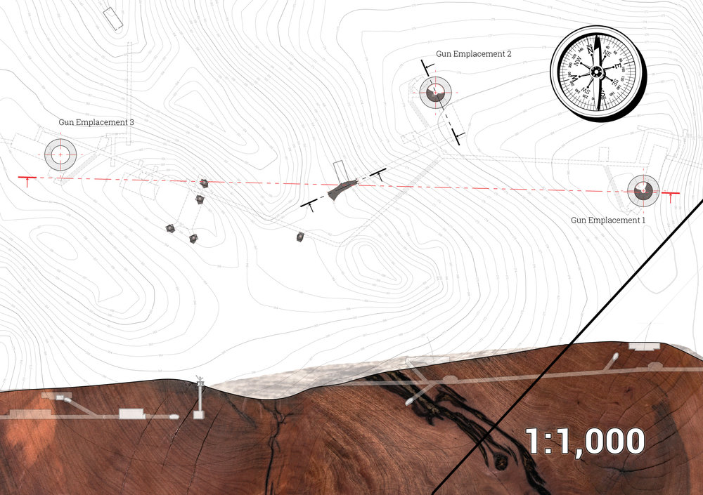 Fort Stony Batter, Site Plan