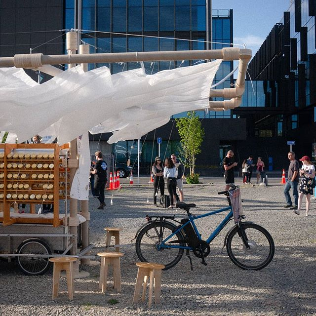 FEASTA ft. @uoacreatives  #festa #feasta #christchurch #architecture #installations