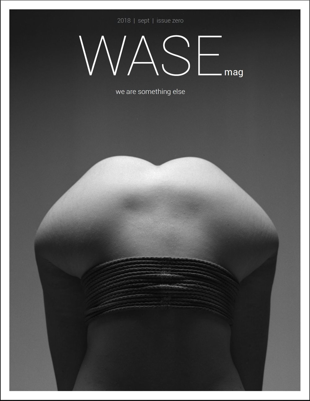 WASEMAG PRINT ISSUE #ZERO - 144 pages - premium paper art book
