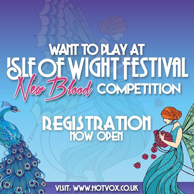 Want to play at Isle Of Wight Festival 2019??? @Cargo Rooms are pleased to support the New Blood Competition, giving emerging bands the chance to perform at the festival. If that's not enough, just enter the competition to receive a 50% DISCOUNT on your first two sessions at Cargo Rooms. Simply book your first session and get your second session FREE! Sign up here - https://bit.ly/2CD1CrB For more info on Cargo Rooms visit www.cargorooms.com