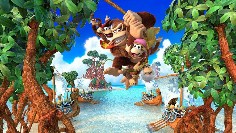 New swing... - Nintendo's iconic ape arrives on the Switch in style, and brings this incredible and overlooked Wii U original with him.