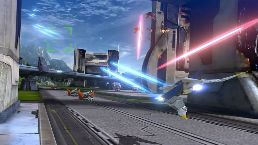 Returning to the skies of the besieged planet Corneria,  Star Fox Zero  is yet another rehash of the story told in both the original  Star Fox  and  Star Fox 64 . Still, like each new iteration of  Doom , it brings enough new material to the table that it easily stands apart as a unique experience.