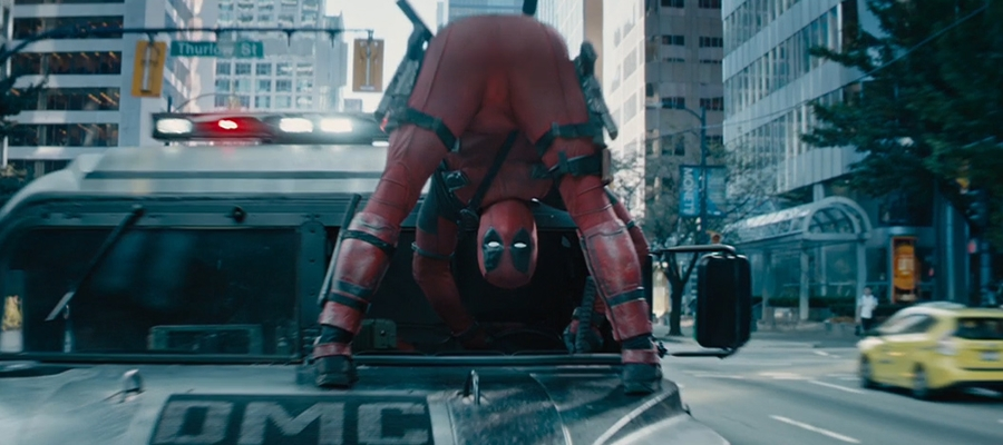 Yep. Deadpool's back, and doing stuff like this again.