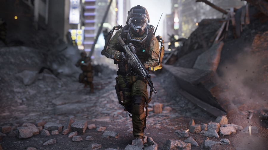 Massive set-pieces and some decent character work in comparison with other recent  Call of Duty  titles makes the campaign of  Advanced Warfare  a standout, though the environments aren't quite as varied as the  Call of Duty  trilogy or the  Black Ops  games. There are some really cool technological augmentations for the soldiers, though, unique to this game.