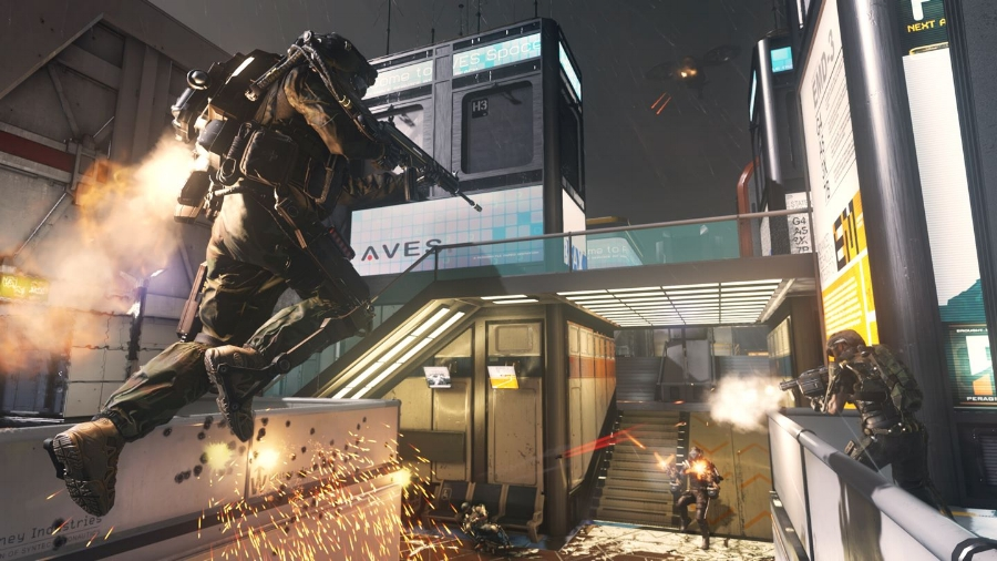 Speed and verticality is the name of the game, and while this helps to make  Advanced Warfare  feel new, in some places it just doesn't go far enough.