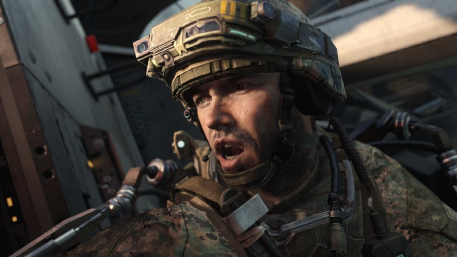 Character models and facial animations in  Advanced Warfare  are second to none, as you can likely even see in this static image.