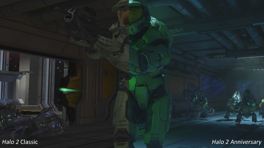 As you can tell, the retouched visuals for the gameplay engine in  Halo 2 Anniversary  are very extensive, and perhaps even more impressive than the retouches made on the first game in 2011.