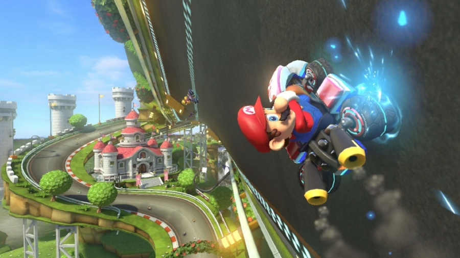"""While introducing the concept of """"anti-gravity"""" to the racing mechanics of the game,  Mario Kart 8  has also polished all of the existing tropes of the series into an experience that both reiterates and expands on the things that make the series so beloved."""