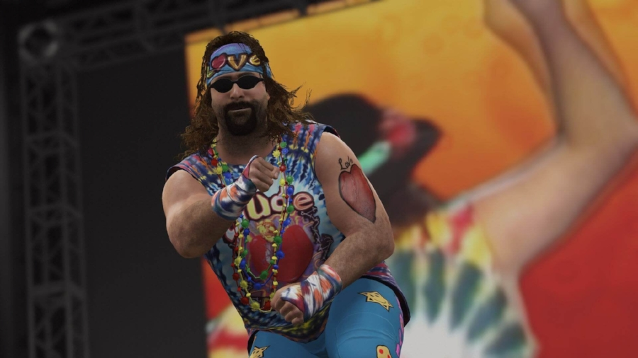 The representation of the Attitude Era extends well beyond Stone Cold Steve Austin, with Mick Foley's alter ego Dude Love recreated brilliantly within the engine of  WWE 2K16 . It's an extremely solid and reverent experience to the WWE's second major popularity boom.