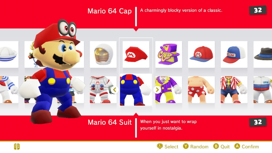 There are a ton of unlockable costumes that you can acquire over the course of the game, a fair amount of them instantly if you have their corresponding amiibo figure. The toys aren't necessary, though, as every costume in the game can be unlocked through regular play.