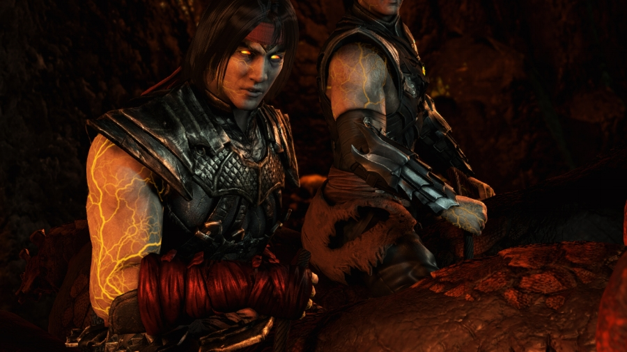 It's really unsettling seeing Liu Kang as a revenant serving Quan Chi, and unfortunately, that doesn't change by story's end.