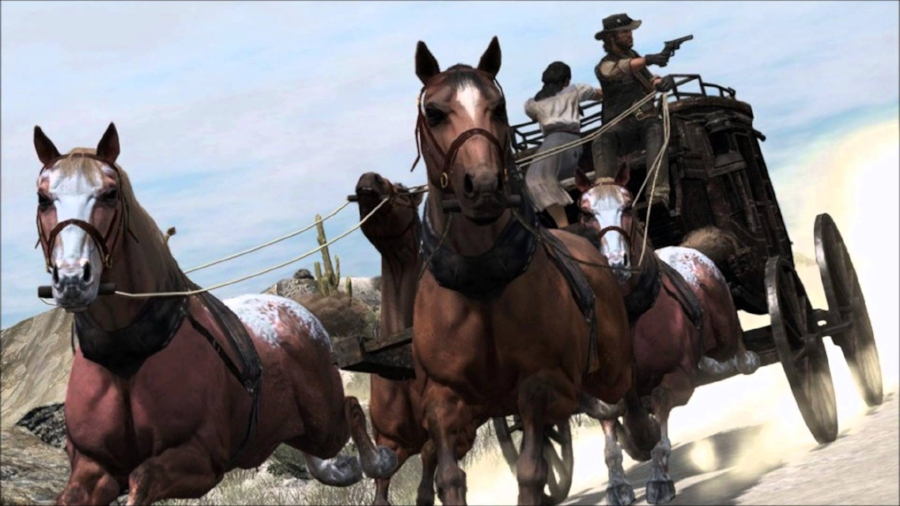 The world of  Red Dead Redemption  features no shortage of things to do, people to help, money to steal, towns to visit, and landscapes to cross. It's an extraordinarily vibrant facsimile of a Western landscape that's fighting a futile battle to resist the modernization that will inevitably come for it, kind of like John himself.