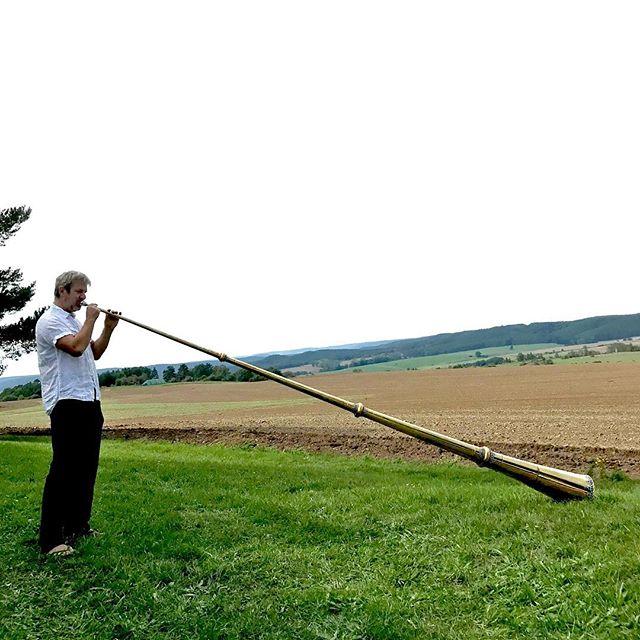 Jan Heinke #mongolianhorn #thüringen #soundartist #janheinke
