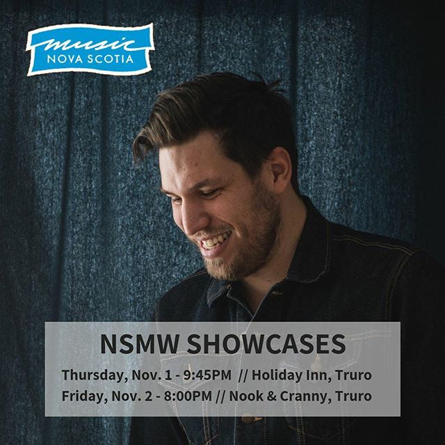 Tonight and tomorrow in Truro! #NSMW2018
