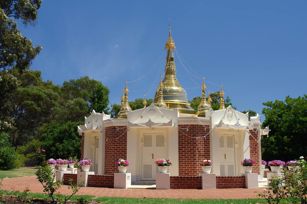 Light of the Dhamma Pagoda, Perth, West Australia