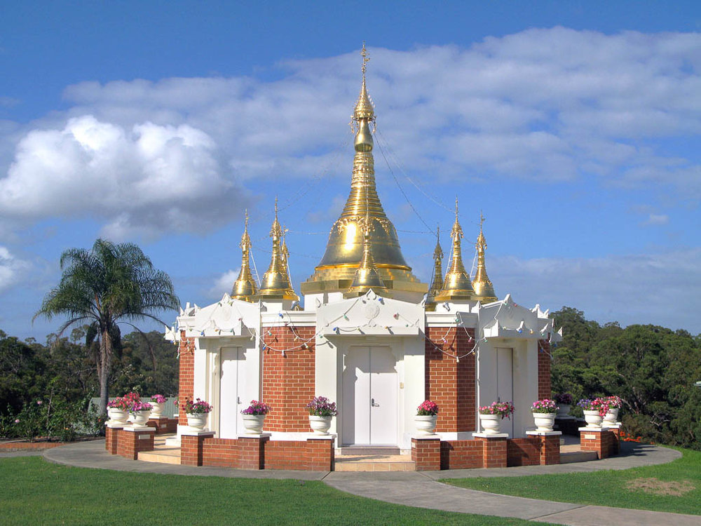 Light of the Dhamma Pagoda, New South Wales, Australia