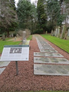 Edinburgh (Comely Bank) Cemetery contains 225 burials of the First World War.