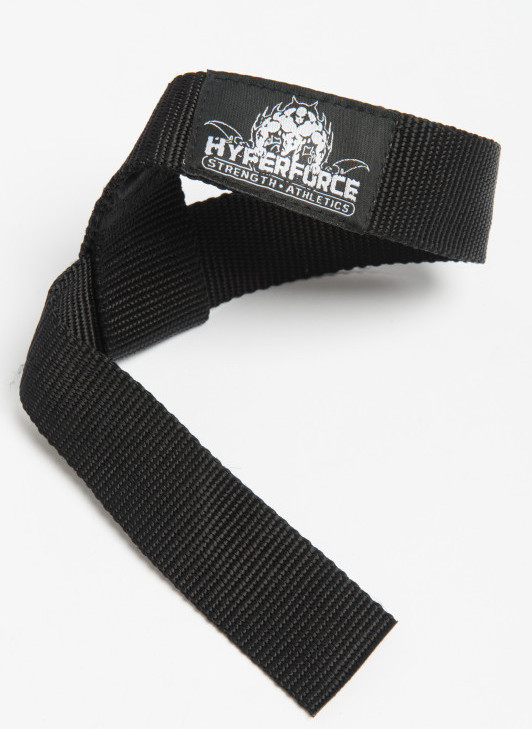 HyperForce Lifting Straps - HyperForce weightlifting straps are made with 100% nylon, double stitching and reinforced grip. If you want to lift heavier weights but your grip is holding you back, lifting straps are the perfect tool for you.