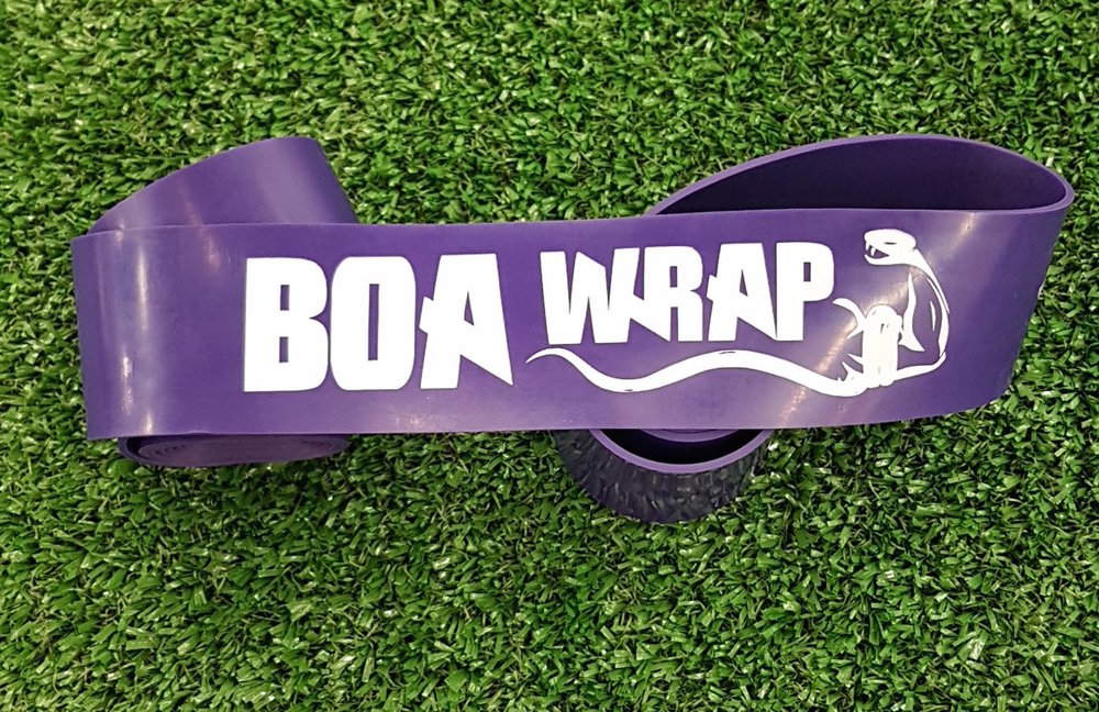White Lion Boa Wrap - Our Boa Wrap is a tool that can make subjective changes to your joints and soft tissue through using compression + Tension + Movement. These changes will often improve tissue mobility, increase joint flexibility, decrease pain and speed up recovery. The overall outcome may be increased performance and improved movement quality.Boa Wrap can be used as part of your movement prep prior to training and also during your cool down and recovery.