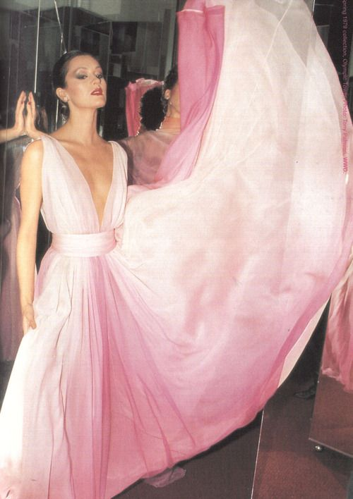 YES WE'RE 70s HALSTON FANS.