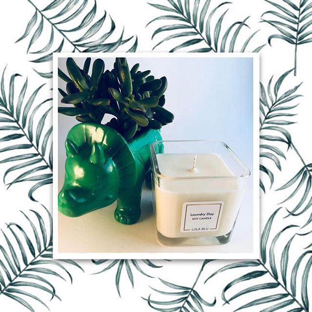 🌿Laundry Day🌿 Love the scent of fresh laundry? 💙Try Lula Blu's Laundry Day Soy Candle💙