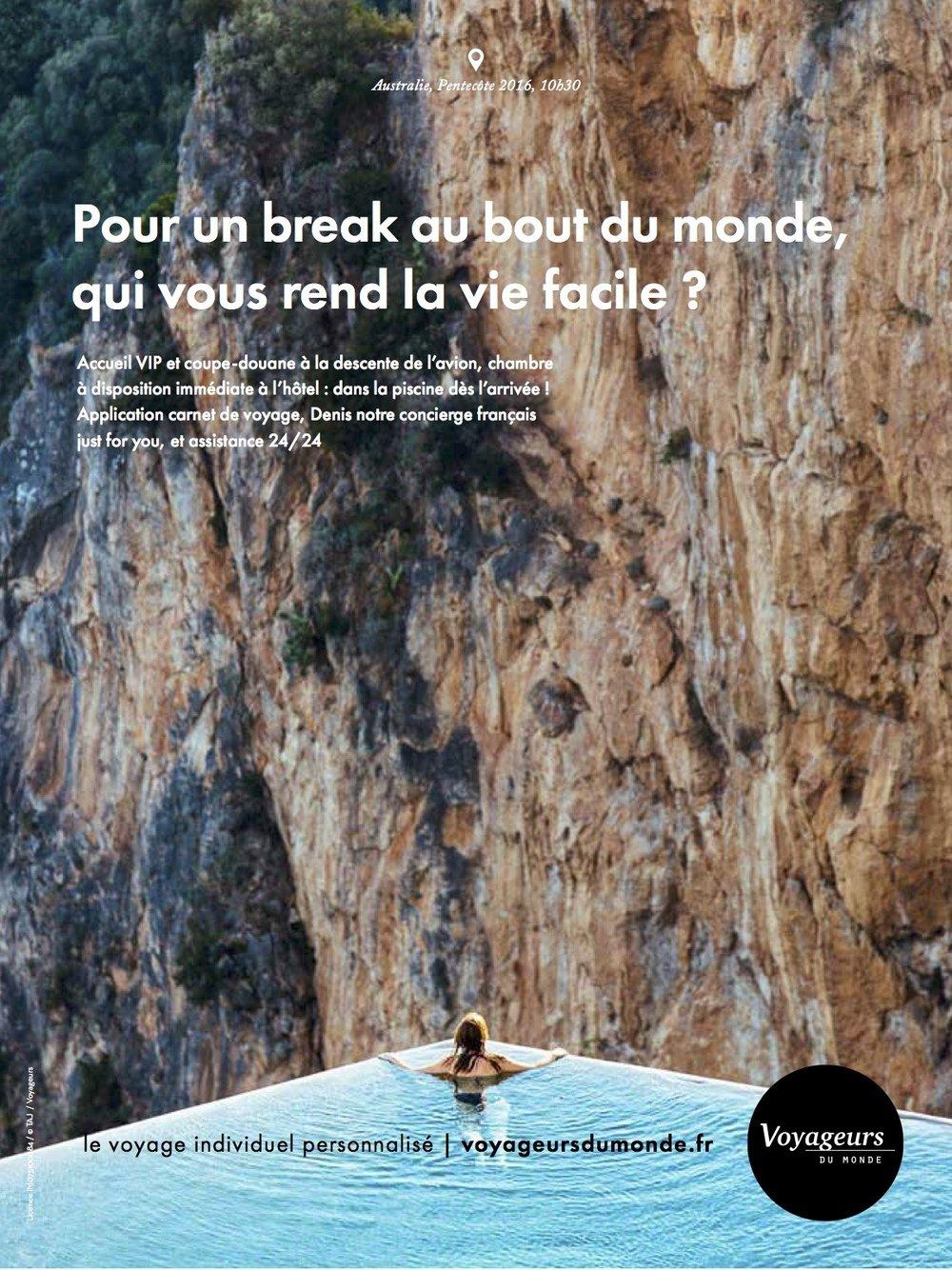 Voyageurs du Monde - International Print Advertisement