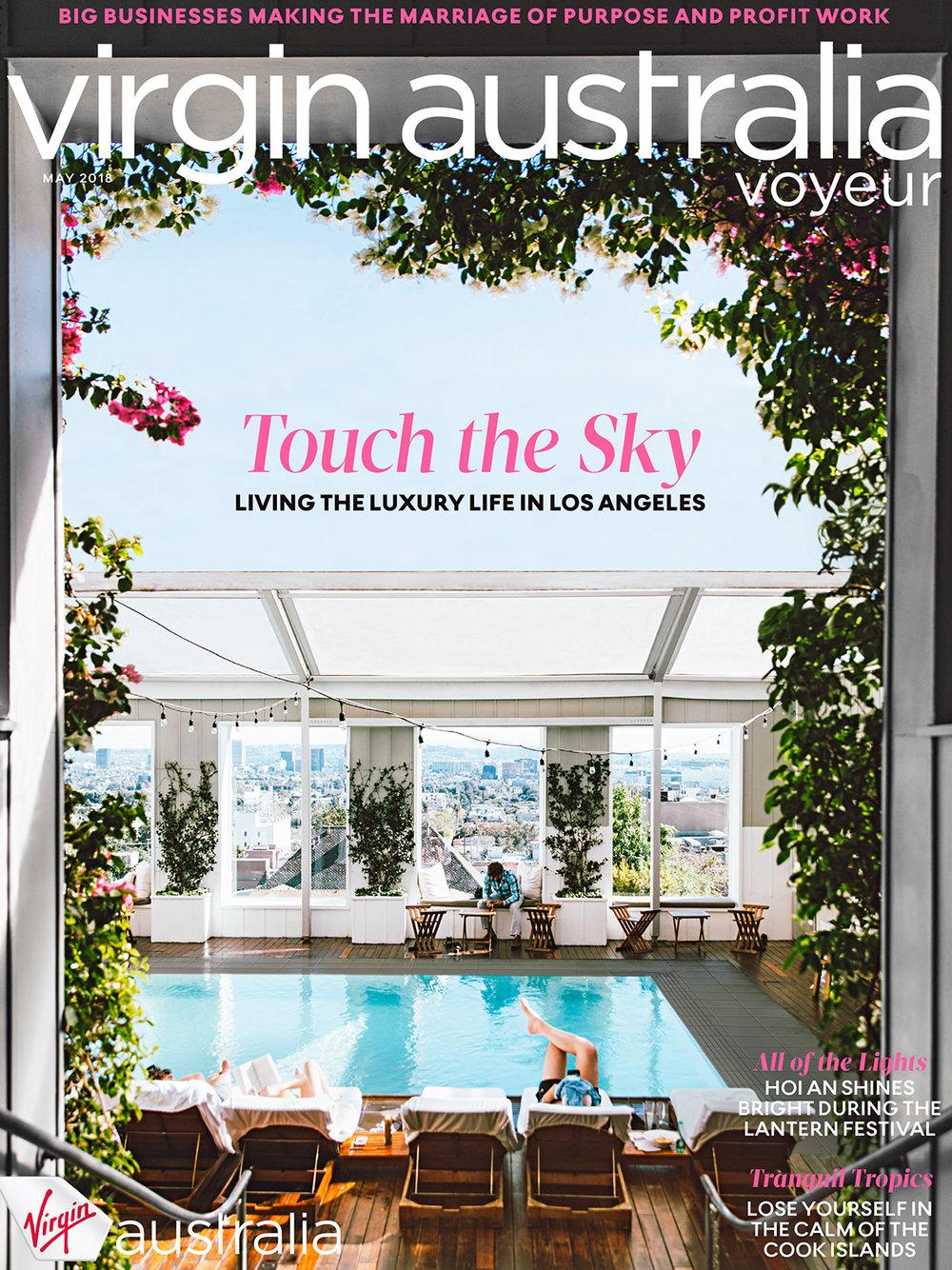 "Virgin Australia ""Voyeur"" - Cover Photography (May 2018)"