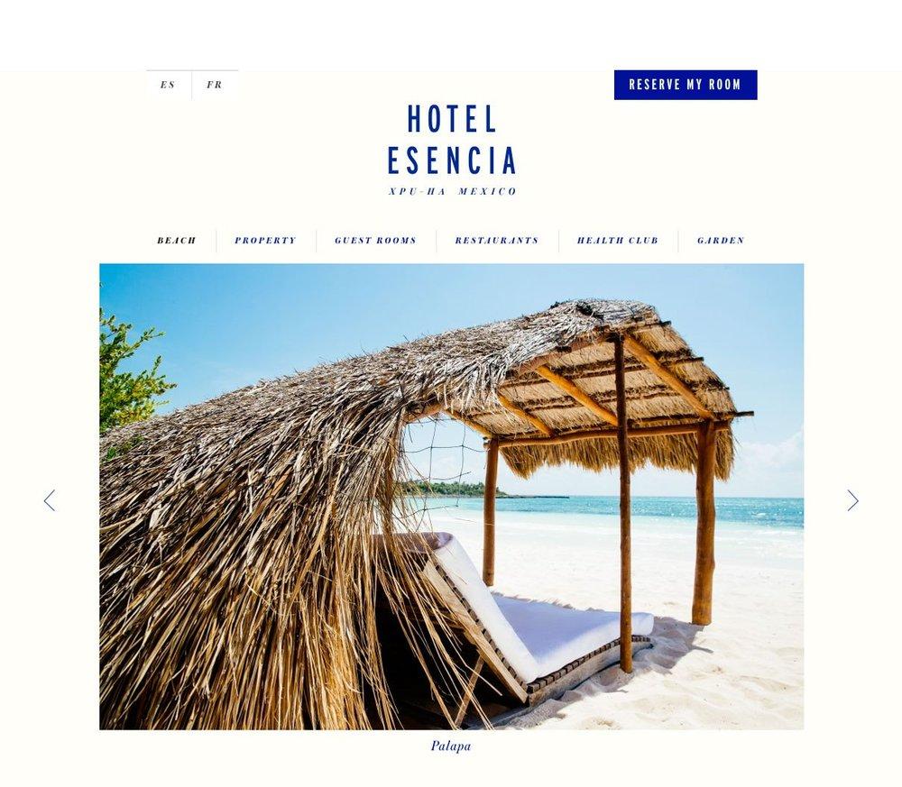 Hotel Esencia (Riviera Maya, Mexico) - Catalog photo shoot