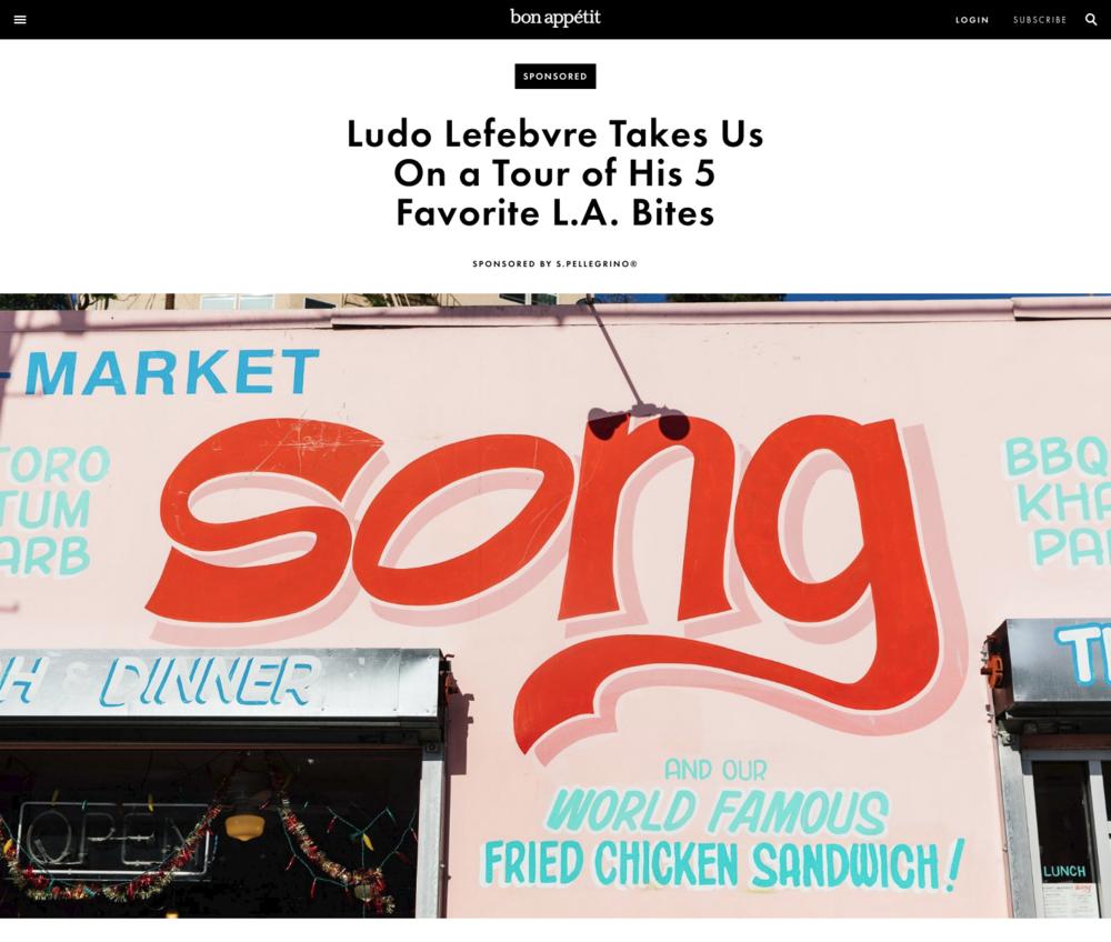 Bon Appétit - Ludo Lefebvre Takes Us On a Tour of His 5 Favorite L.A. Bites