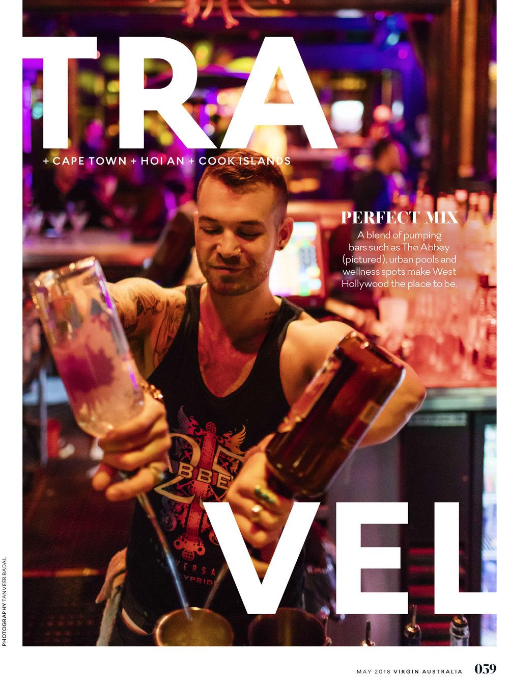 Virgin Australia Voyeur Magazine - May 2018