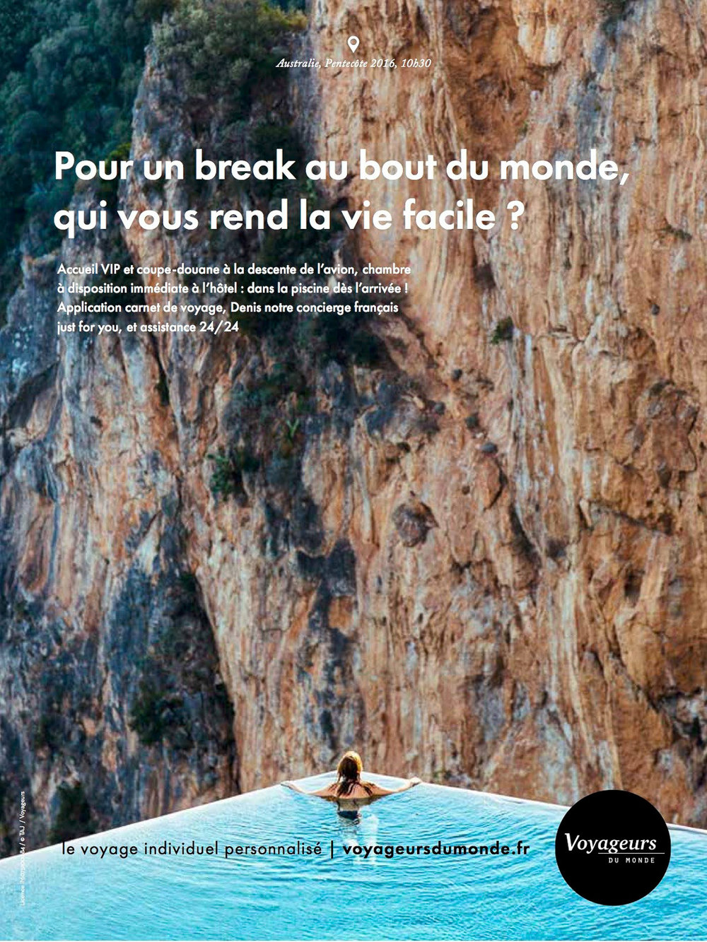Voyageurs du Monde - Print Advertisement