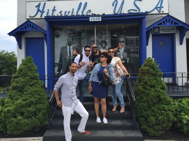 Ajia Clark and Her Band at Hitsville U.S.A.