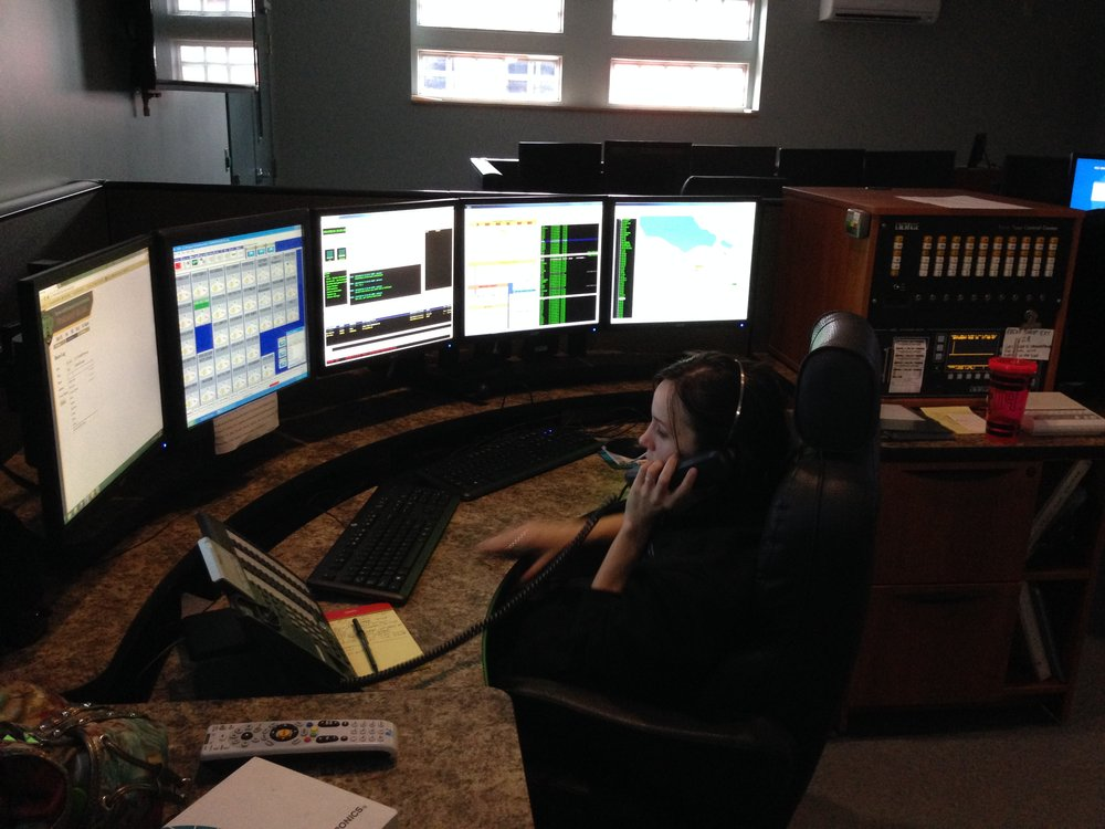 Dispatcher Ashton Nyre