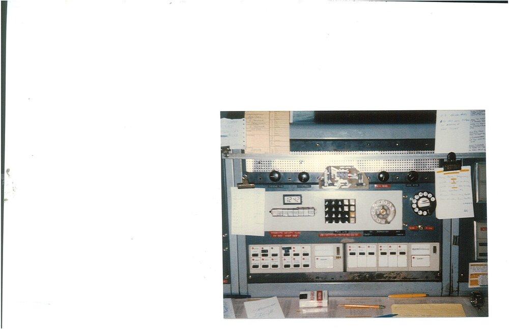 Radio Console 1986