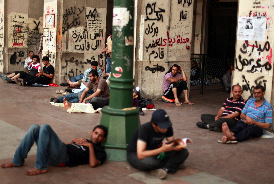 Egyptian youths' quest for jobs and justice