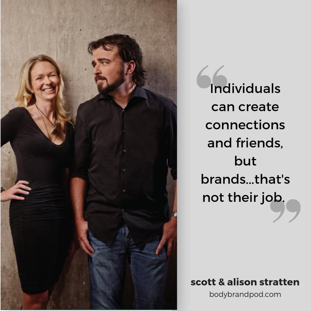 Scott & Alison Stratten