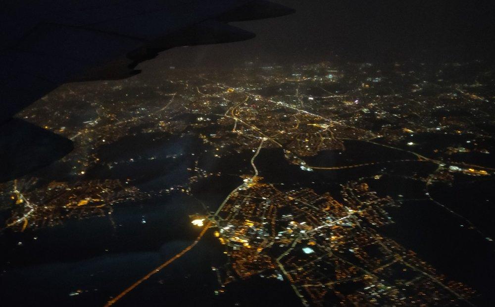 Good bye London !!!