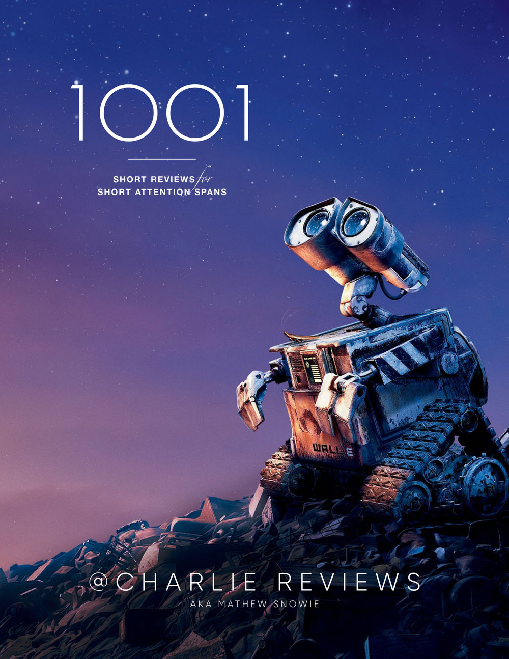 1001 Reviews - After 8 years of writing film reviews on Twitter I passed the milestone of 1001 entries. To celebrate I have collected them into an illustrated book, which can be downloaded as a PDF by clicking the image.