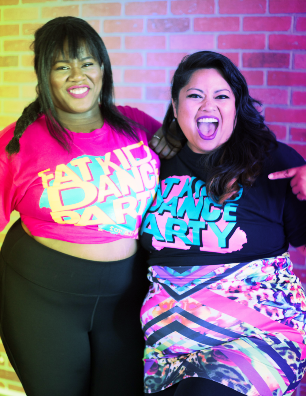 Fat Kid Dance Party is an act of dance floor reclamation - It's a mash-up of dance aerobics, line dancing, sing alongs and unbridled enthusiasm. If you've ever been called
