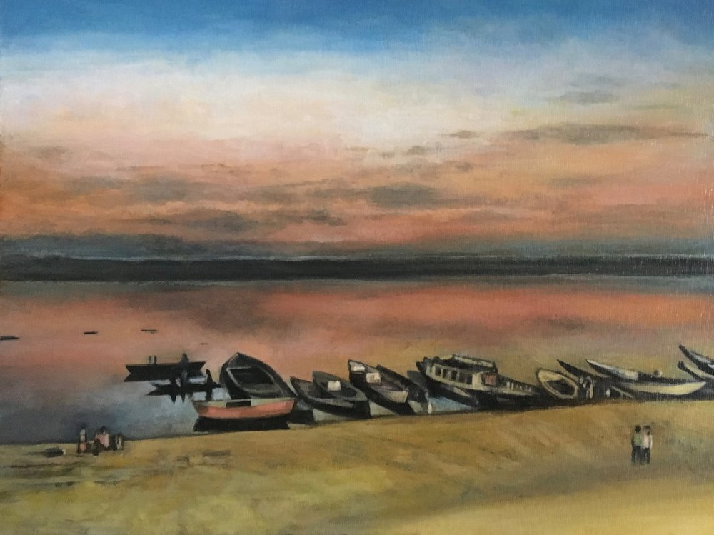 Ganges River at Dawn
