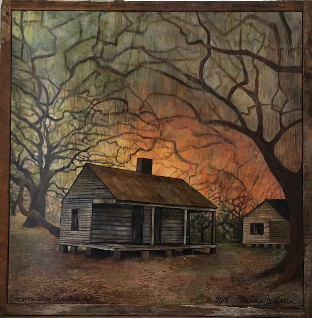 Slave Cabin/Louisiana