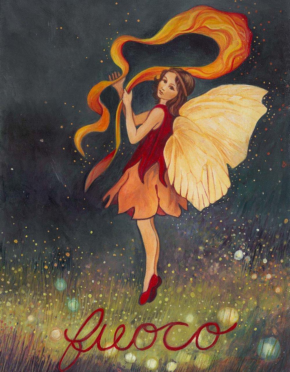 Fire Faerie