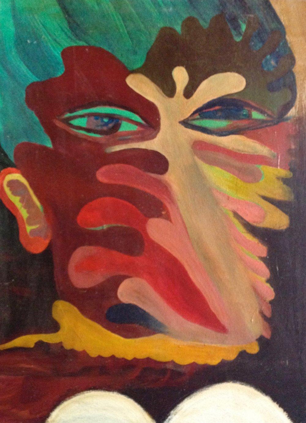 oil on canvas                                                     Nicholas O'Rourke
