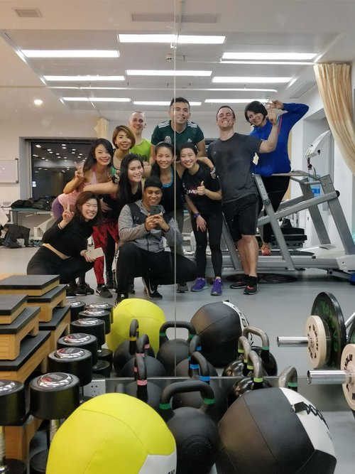 Post-Circuit Training group capture